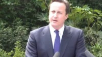 UK首相和副首相开联合记者招待会
