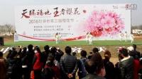 第三届句容天王樱花节太极名家汇演2天王小学太极特色展示