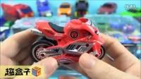 变形金刚 汽车 摩托车 13款 韩国版 玩具 拆箱试玩