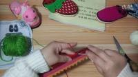 【齐家编织】手工编织钩织成人毛线拖鞋双鱼款(下集)