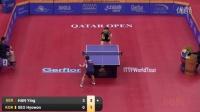 2016卡塔尔公开赛 十佳球 精彩来袭各路大咖施展制胜法宝 乒乓球集锦