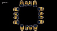 Minions Banana Song - Screen Up Pyramid Hologram Holographic 3D [4K]