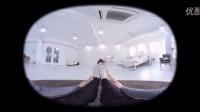 360°全景视频-韩国美女陪你做瑜伽