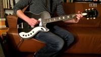 50岁的  Silvertone 1423 电吉他