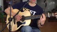 第11节《天空之城》拍弦技巧的讲解 叶冠星 一月通吉他教学 翼音琴行