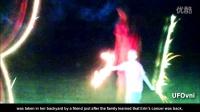 神奇!与白血病作战的儿童背后出现神圣形象 2013 UFO观察