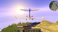 老白我的世界:《航空生存记》第一集!
