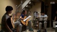 排练古典吉他二重奏Darr, 亚当 《行板与回旋曲》No.6