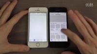 iphone-SE和5 的各种速度比测
