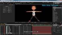 视觉效应CG公开课002期《AE脚本Duik—IK骨骼绑定教程02》解说:小蔡