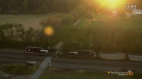 鸟瞰美国 俯瞰美国 宾夕法尼亚州 Aerial_America_720P_PA