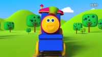 Bob, The Train  Building with shapes  Shape song