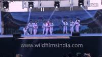 Taekwondo performance K-Tigers from Korea