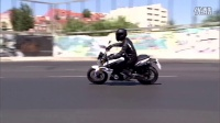 BMW G310R in action