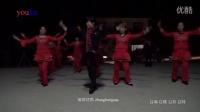 编舞优酷 zhanghongaaa 桃花情32步集体舞1 原创广场舞