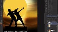 邢帅教育PS视频 诙谐版射雕情侣传海报 PS抠图 PS蒙版 photoshop pscs4 PS创意合成 海报设计