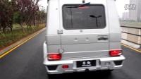 奔驰G500改装哈曼六出排气--湖南长沙零動汽车改装