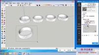 SketchUP草图大师教程:组与组建和缩放工具讲解