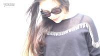 《美女挑挑挑》20160420 简蒂娅单品-韩版镂空蝙蝠衫