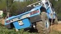 国外首秀 惊险刺激的卡车越野比赛