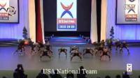 2016世界啦啦操锦标赛集体街舞第一名——美国队