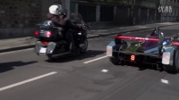 DSV01 and E-Tense in the streets of Paris