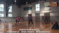 经典羽毛球训练高清慢动作(双打如何轮换,配合进攻)