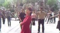人民公园民族舞蹈010