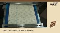 RONDO瑞士龙都:Cromaster牛角生产线-大理石牛角面包(包馅生产)