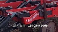 新型农机土地深松机深耕机田间工作视频