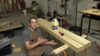 Build a solid workbench on a budget (split top roubo)t Part 2 - Bench-Top Glue U
