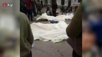 直击:贵州兴义一农用车侧翻致13死12伤