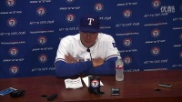 BAL@TEX Banister on offense, Hamels in 6-3 win|M