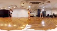 全景视频 韩国女团Bambino舞蹈 女主播