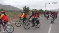 自行车协会慰问南五十家子五保服务中心