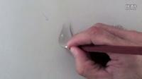 这水滴竟然画的跟真的一样,特别是最后一幅画 How to Draw a Water Drop Step by Step - Fine Art-Tips