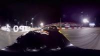 疯狂停车场漂移360度全景表演赛