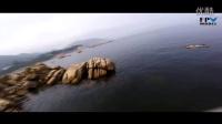 FPVMODEL香港战队飞手Titan海边穿越机 贴水飞行竞速ZMR250