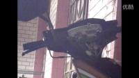 迅鹰125踏板摩托车维修技术换前刹把19实例