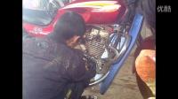 125摩托车维修换离合器片20实例