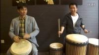 刘雍非洲鼓会员视频中 滚奏三、四、五的实际运用方法示范2