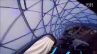 FULL POV Tron Lightcycle Power Run ride at Shang