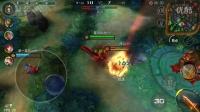 【星火】自由之战游戏实况秀 德古拉暴打对面ADC射手 中期无敌。