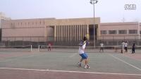 2016-05-01 石油大学 过网正手击球训练