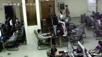 """广西柳州""""金冠达网咖"""" 学生触电身亡现场监控"""