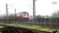 东风4D牵引K465进绍兴站