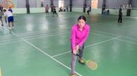 【羽毛球教学视频 】杜杜教练教你全场步伐(米字步训练)