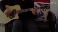 【吉他雨工作室】宋冬野 - 《斑马,斑马》前奏木吉他分解和弦教学。