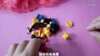 手工DIY启蒙立体拼插积木 芭比娃娃玩具总动员