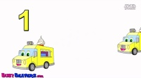 'Counting Ice Cream Trucks' - Teach Kids Counting, Numbers 123s, Toddler Learnin